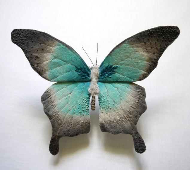 Дивные текстильные насекомые от мастера Yumi Okita, фото № 15