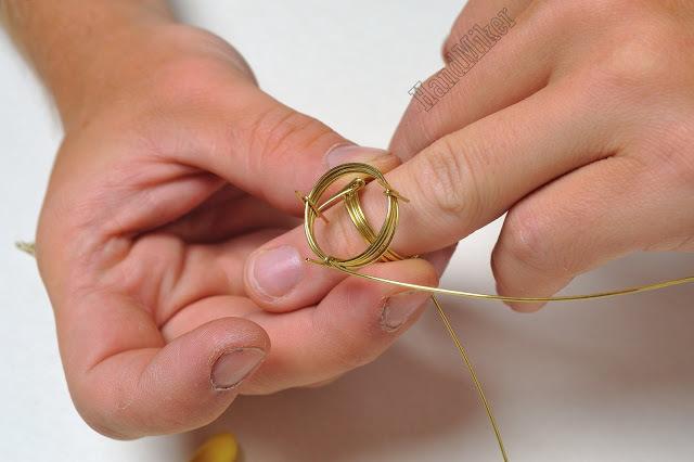 Властелин колец, или Как создать перстень из одного цельного куска проволоки, фото № 13