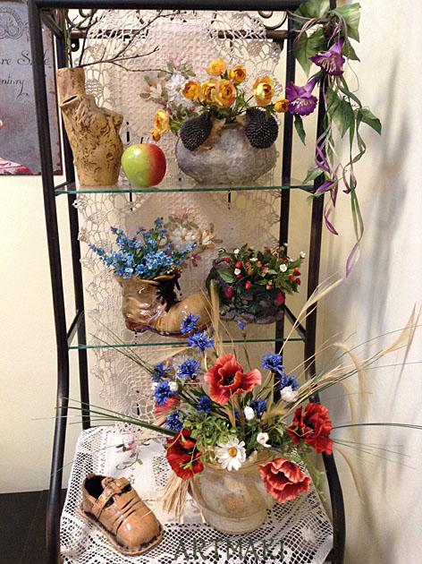 цветы из фоамирана, шёлковая флористика
