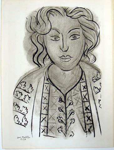 Черно-белая графика знаменитых художников, фото № 27