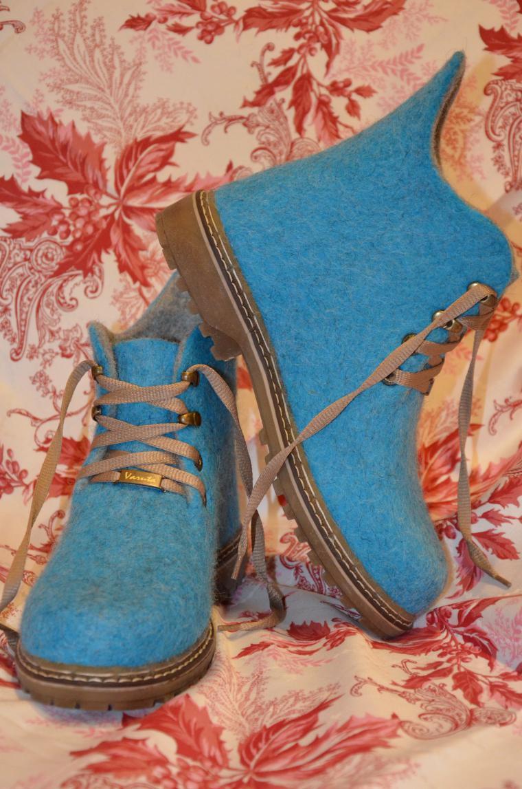 валенки для улицы, обувь ручной валки, обувь на заказ, татьяна загайнова