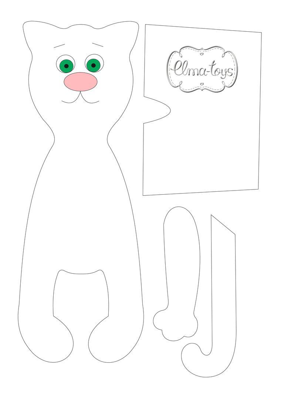 как сшить кота, кот своими руками, кот из ткани, как раскрасить мордочку, рисовать глаза, роспись лица кукле