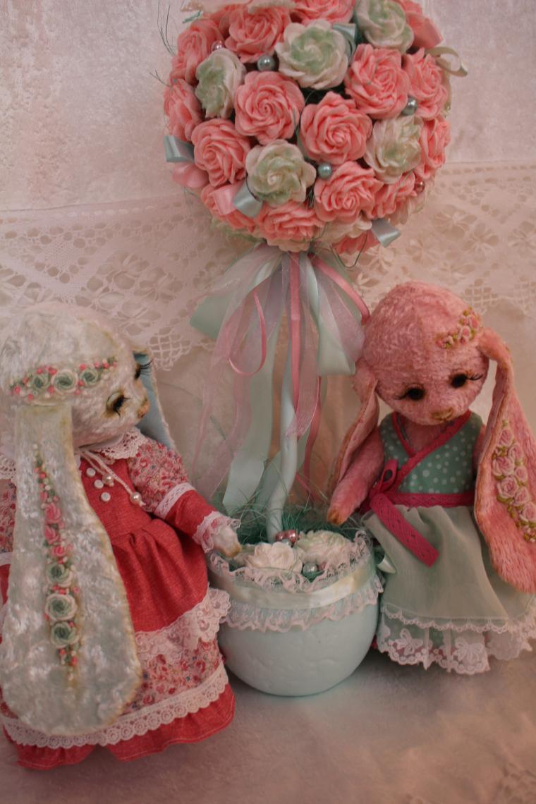 весна, розовый