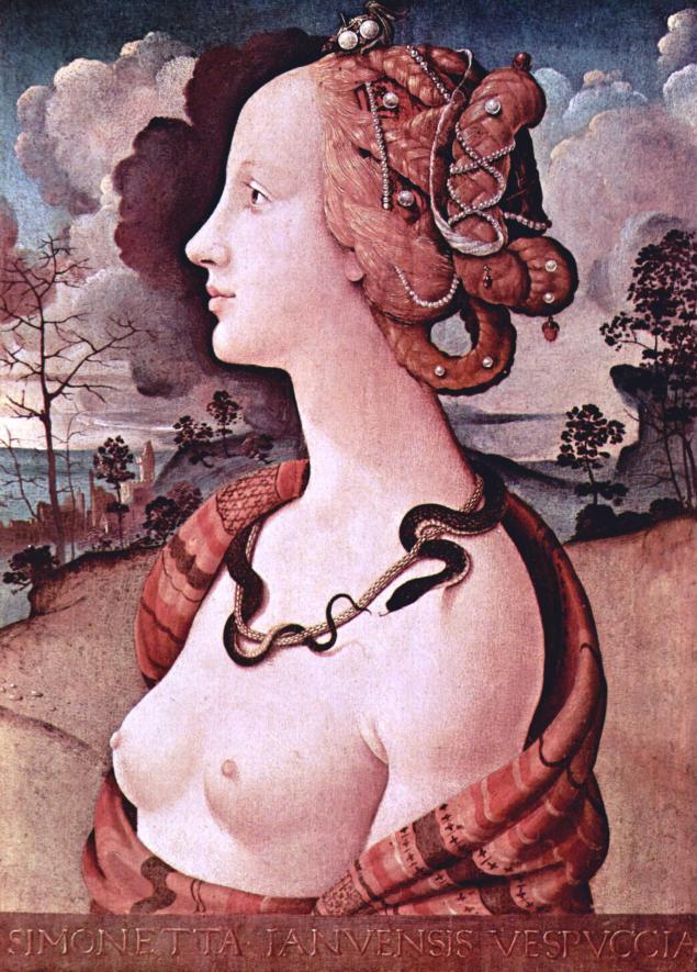 симонетта, эпоха возрождения