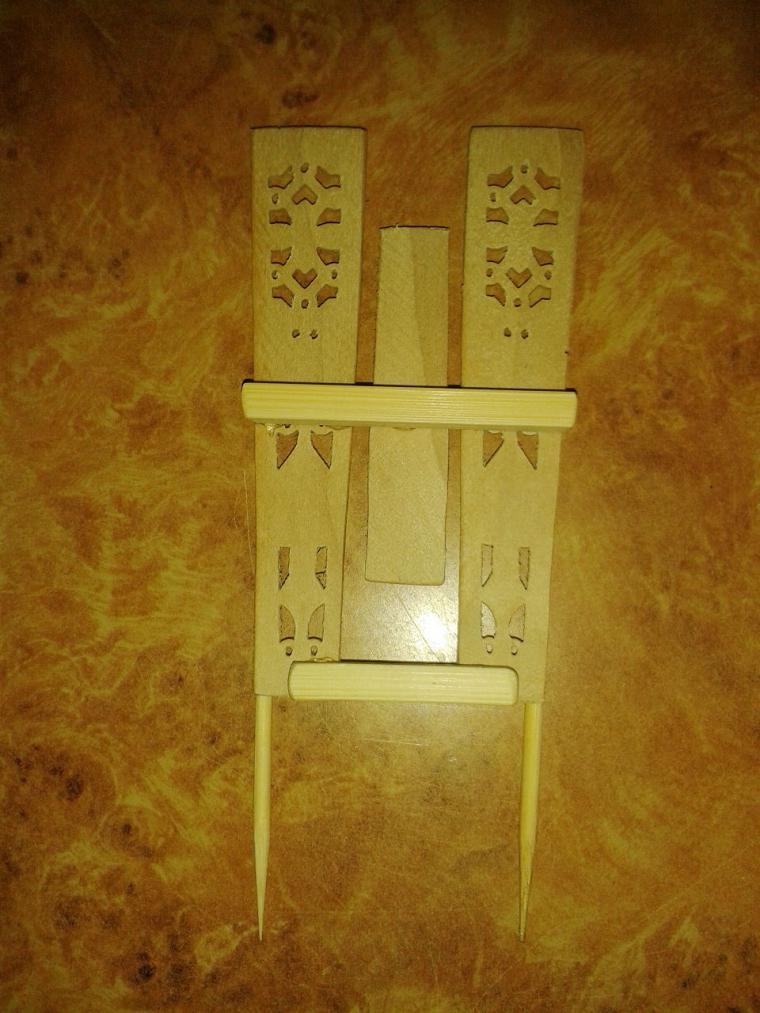 Мастерим декоративный забор с цветочными горшками для мини-садика, фото № 20