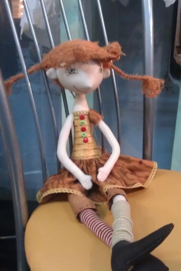 мк по текстильной кукле