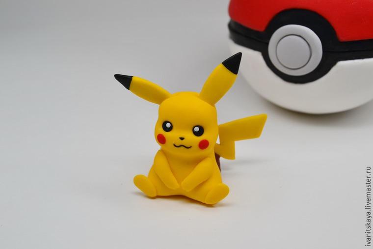 Видео мастер-класс  лепим фигурку Пикачу по мотивам Pokemon Go ... 2fdb52fedacf9
