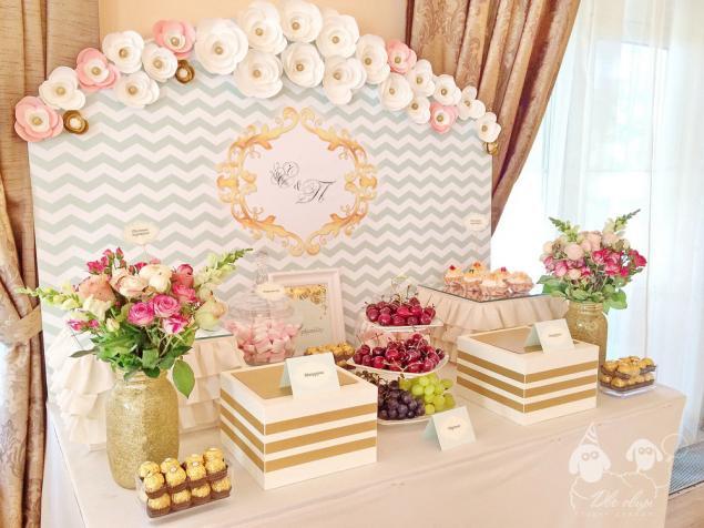 декор свадьбы, флористика