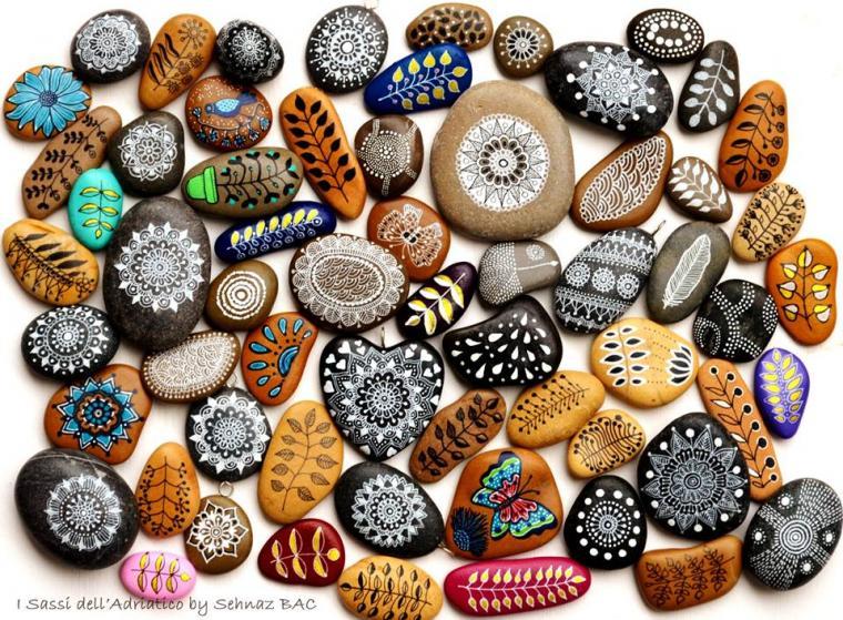 Рисовать на камнях как называется