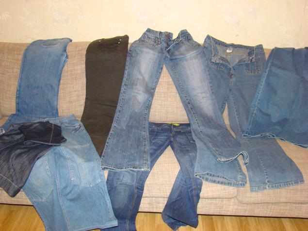 джинсы даром, отдам