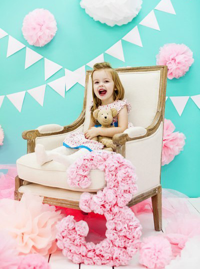 батарейки, первый день рождения дочки в стиле тиффани вахтой для