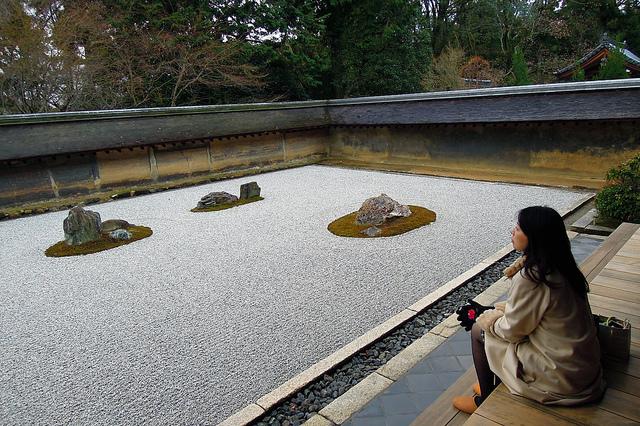 Микромиры: японские сады камней, фото № 3