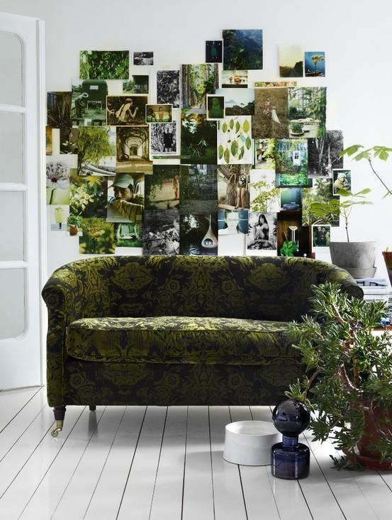 зеленый для дома