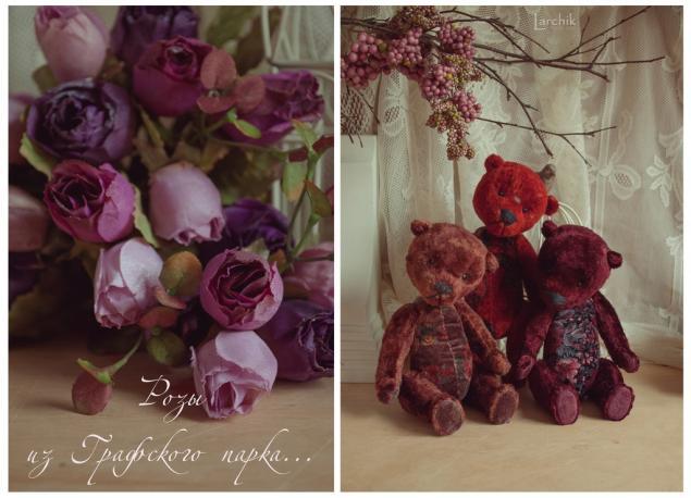 мишки-цветы