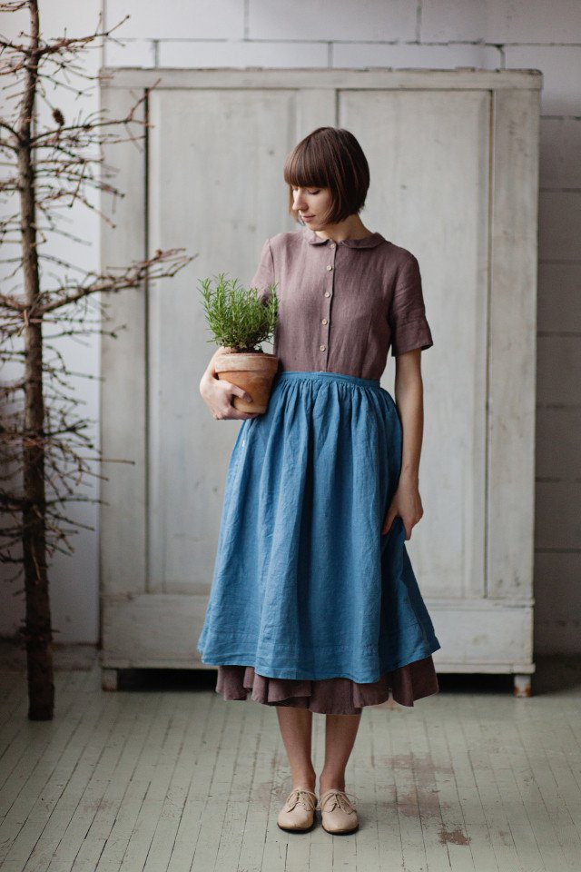 Scandinavian Style In Clothes By Son De Flor Articles And Diys Livemaster