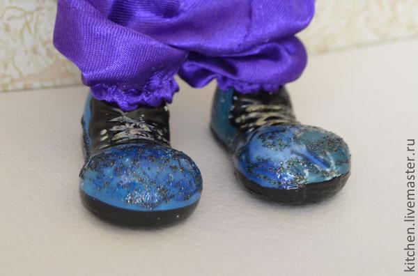 реставрация ботинка