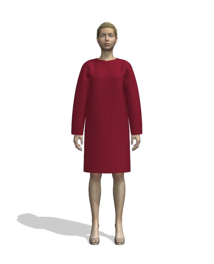 разработка лекал одежды, 3д модели одежды