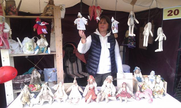 выставка-продажа, кукла тильда, кролик тильда