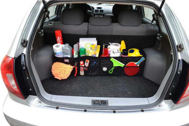 Органайзер в автомобиль в багажник