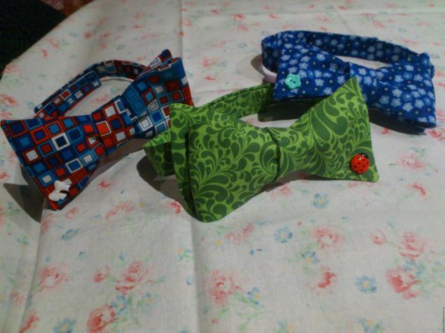 Бабочка галстук своими руками из ткани мастер класс