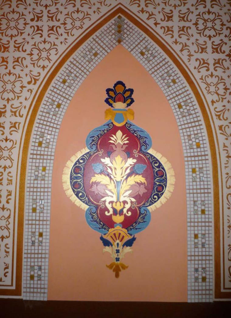 Роспись по восточному стилю