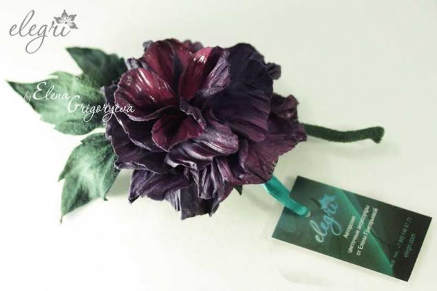 мастер-класс роза
