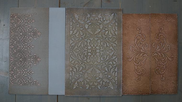 Тиснение орнамента на мебели. Мастерская Натальи Строгановой. Отчет. Часть 2, фото № 12