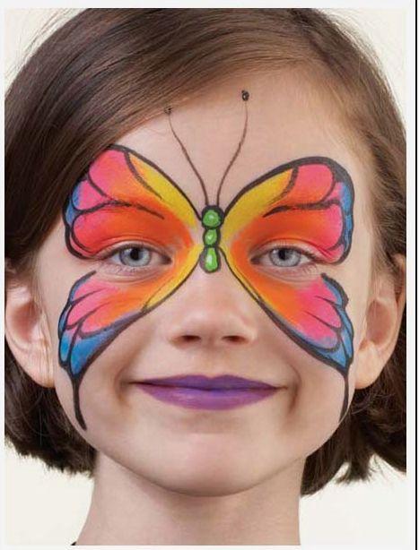 Бабочки и карнавальный бодиарт - Ярмарка Мастеров - ручная работа, handmade