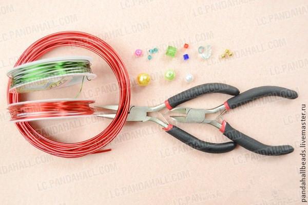 кулон, wire wrap
