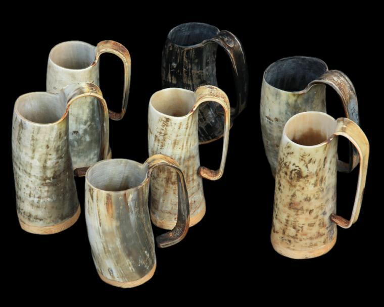 Hall mccoy tavern mugs vintage cars