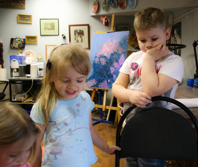 детское творчество, уроки для детей