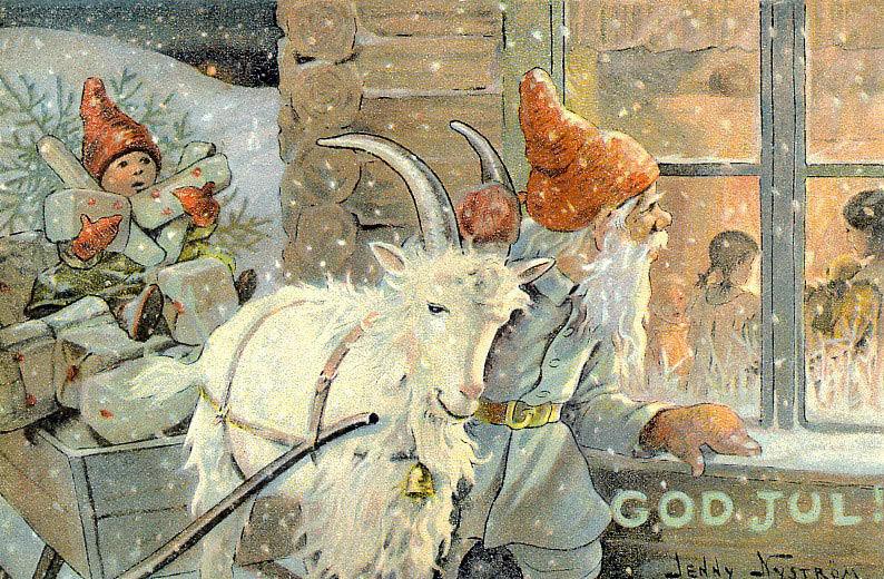 рождественский козел