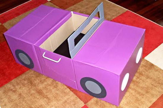 Поделки для детей своими руками из картона и бумаги