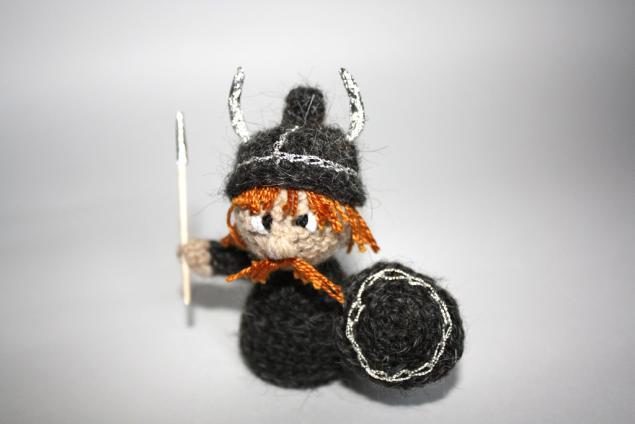 амигуруми, викинг, норвегия, игрушки ручной работы