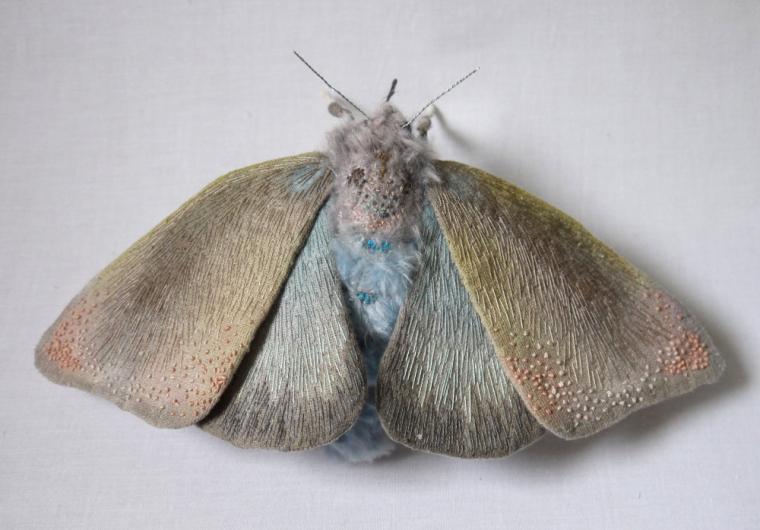 Текстильные шедевры, или Бабочки как источник вдохновения, фото № 22
