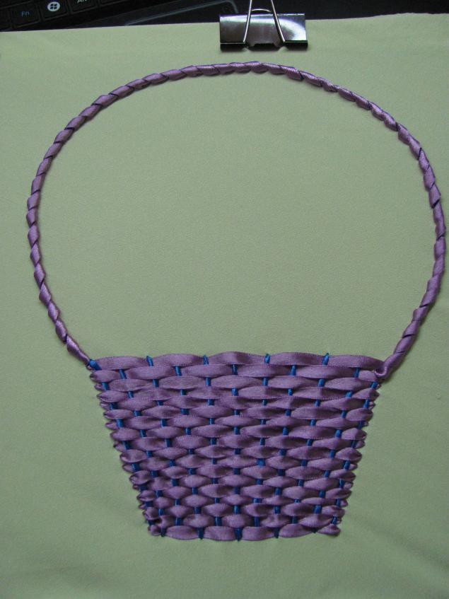 Вышивка атласными лентами своими руками мастер класс