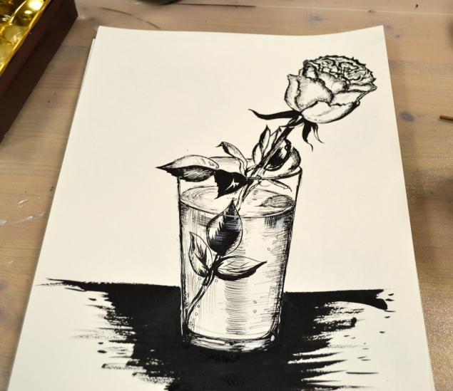 натюрморт, обучение рисованию