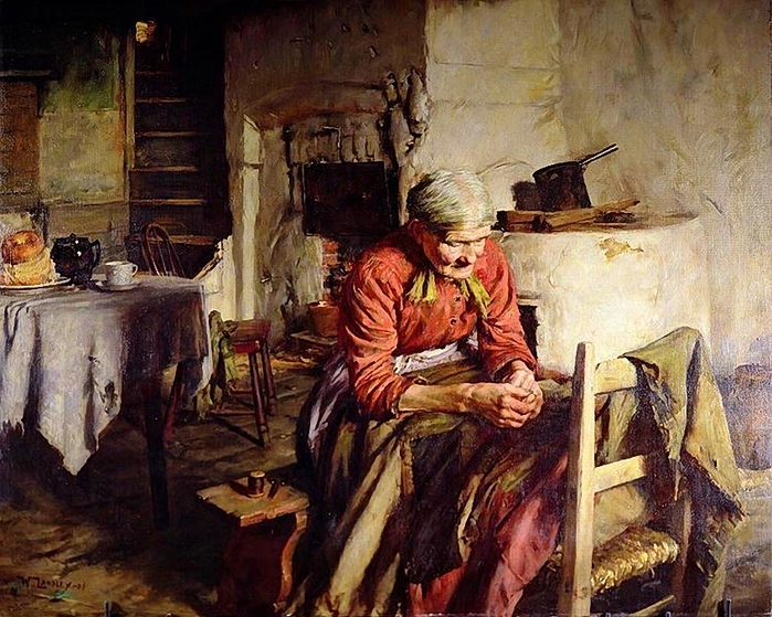Walter Langley ,Memories, 1906 (700x559, 356Kb)