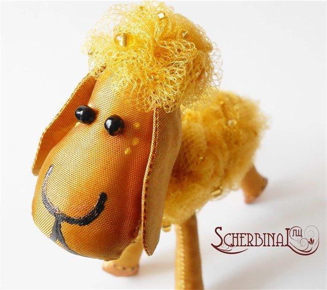 Овца на ёлку