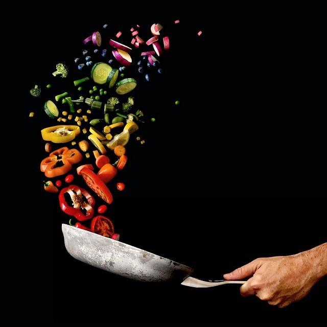 saut the rainbow. #WHPcolorfulcooking