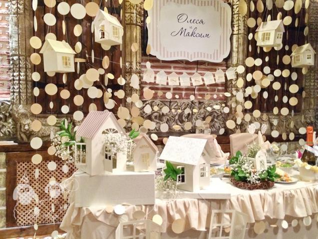 оформление свадьбы, декор свадьбы