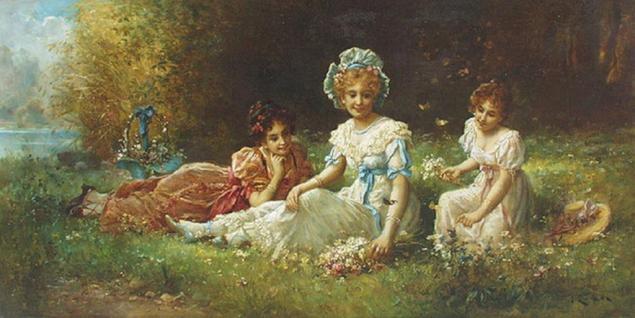 Шедевры живописи. Картины австрийского художника Ханса Зацка, фото № 47