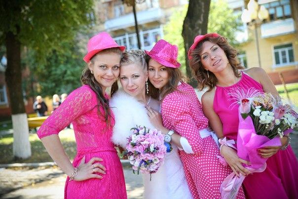 розовый, браслеты для подружек
