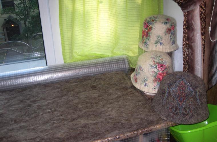 валяльная мастерская, мужская шапка, ремесленная мастерская