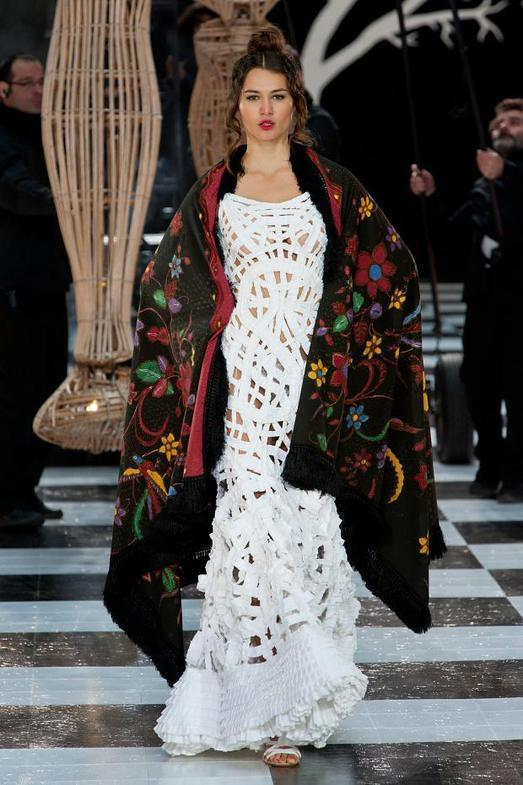 Franck Sorbier Haute Couture весна-лето 2014, фото № 23
