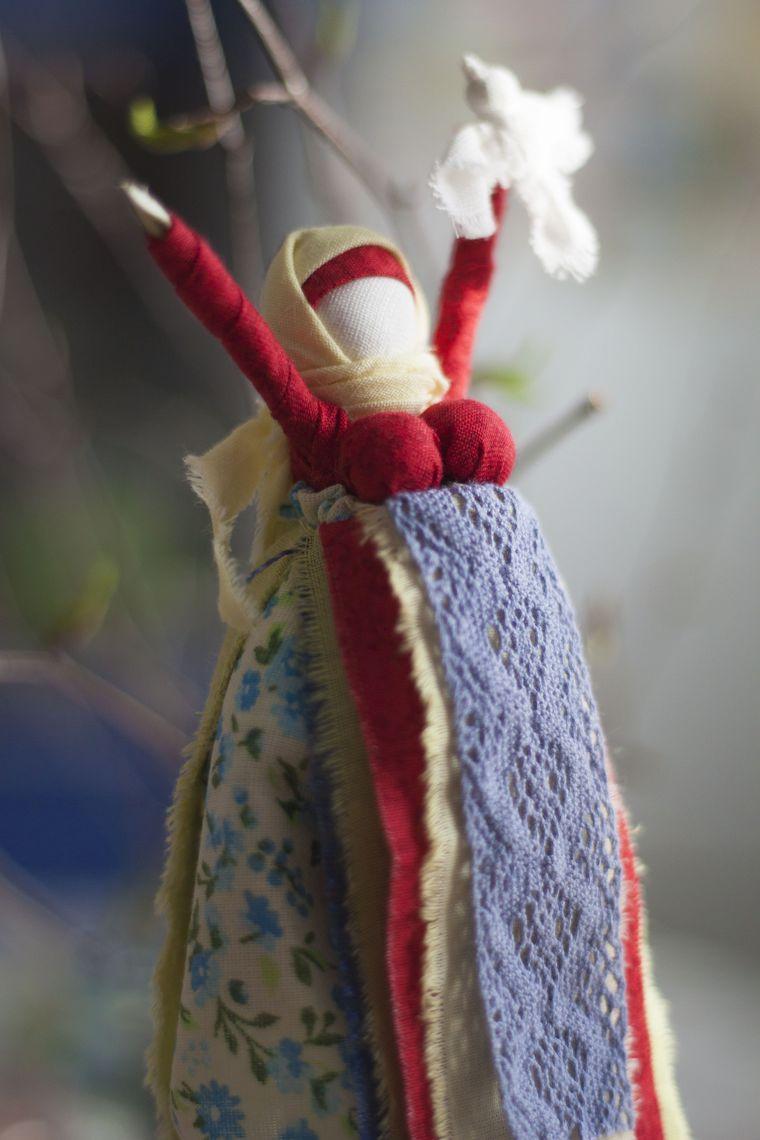 ..Весне радуюсь.. и новые куколки. | Журнал Ярмарки Мастеров