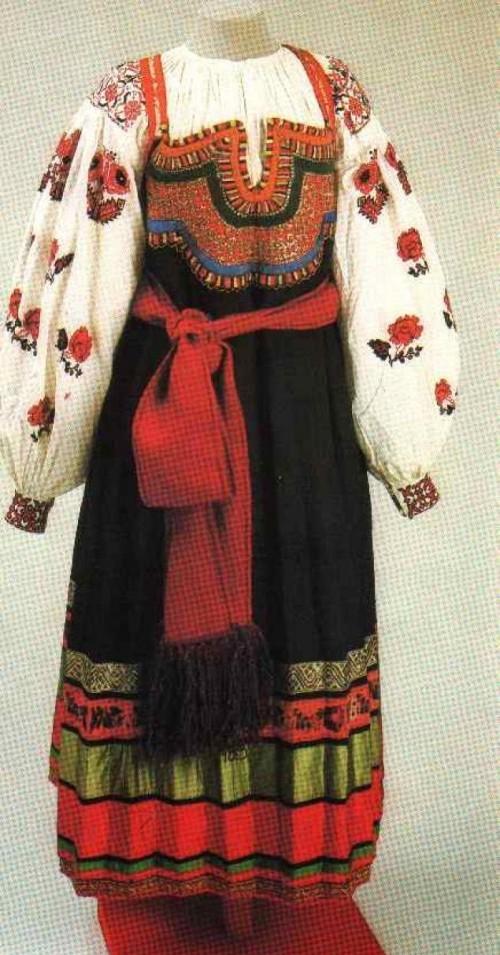 Русская женская одежда фото 152