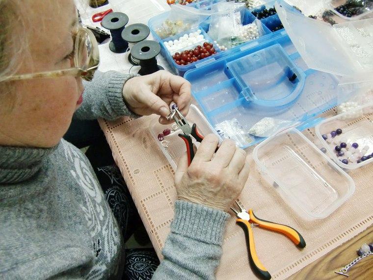 украшения ручной работы, ожерелье, бижутерия