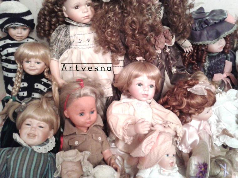 выставка-ярмарка, фарфоровая кукла, винтажные куклы, тишинка