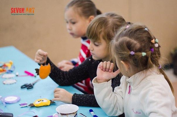 мастер-классы, мастер-класс для детей, игрушки из фетра, игрушки на елку